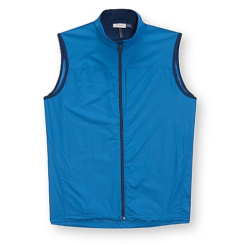 Free Shipping. Ibex Men's Momentum Vest DECENT FEATURES of the Ibex Men's Momentum Vest Semi-fit Wind and water resistant Reverse coil front zipper Hidden zipper hand and chest pockets Back zippered pocket Elastic drawcord at hem Reflective logo on center back and reflective stripe on back pocket Imported The SPECS Fabric: 69% Recycled Polyester, 31% Virgin Polyester Eco-Friendly Breathable Recycled Woven Polyester with Water-Resistant Coating 68 g/m2 Lining: 100% Zque New Zealand Merino Wool 18.5 Micron Mid-weight Jersey 195 g/m2 - $149.95