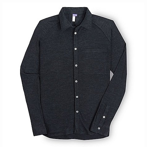 Free Shipping. Ibex Men's OD LS Shirt DECENT FEATURES of the Ibex Men's OD Long Sleeve Shirt Semi-fit Button down front and cuffs Chest pocket Raglan sleeves The SPECS Fabric: 100% Zque New Zealand Merino Wool 18.5 Micron 150 g/m2 - $144.95