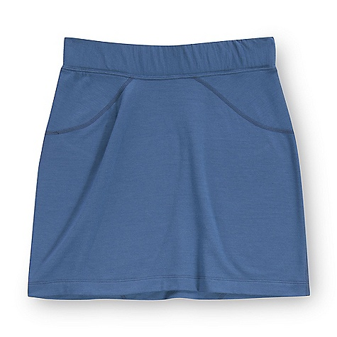 Free Shipping. Ibex Women's Jaci Short and Sweet Skirt DECENT FEATURES of the Ibex Women's Jaci Short and Sweet Skirt Regular fit Falls 3in. above knee Flatlock design details The SPECS Length from top waist band: extra small: 15.75, small: 16.25, medium: 16.75, long: 17.25in. 100 % ZQ New Zealand Merino Wool 18.5 micron French Terry Knit 230 g/m2 - $84.95