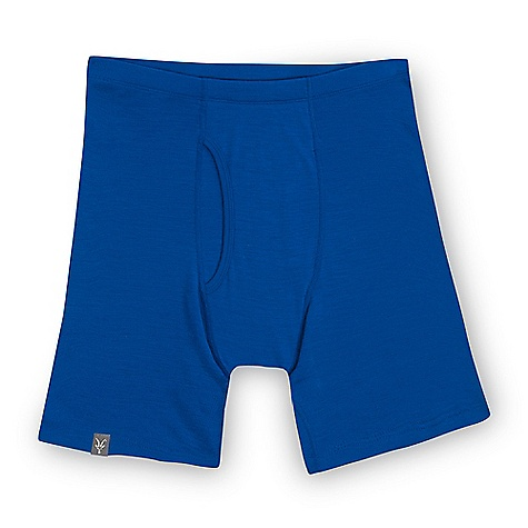 Free Shipping. Ibex Men's Woolies 150 Boxer Brief DECENT FEATURES of the Ibex Men's Woolies 150 Boxer Brief Form fit Fly equipped; double panel construction Flatlock seams Tag-free labels Imported The SPECS Inseam: small: 5in., medium: 5.5in., long: 5.5in., extra long: 5.75in., XXL: 6in. 100% ZQ New Zealand Merino Wool 18.5 micron Lightweight Rib Knit 150 g/m2 - $50.00