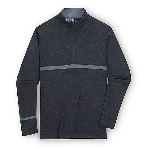 Free Shipping. Ibex Men's Indie LS Zip Top DECENT FEATURES of the Ibex Men's Indie Long Sleeve Zip Top Semi-fit Contrast stripe details 9in. Zip neck with locking pull The SPECS Fabric: 100% Zque New Zealand Merino Wool 18.5 Micron Mid-weight Jersey 195 g/m2 - $109.95