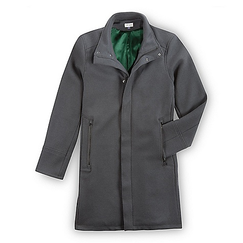 Free Shipping. Ibex Men's Galloway Coat DECENT FEATURES of the Ibex Men's Galloway Coat Tailored fit 9in. zippered Hand warmer pockets 6in. inner stash pocket Lined with 100% silk Mid-thigh length Collar snaps up for warmth Hidden center front zip with snap closures Back vent Hand wash or dry clean 2-way zipper The SPECS Center Back Length: 38in. Fabric: 90% Merino Wool,10% Nylon 22 Micron Heavyweight Felted Woven Melton Wool 720 g/m2 Lining: 100% Silk Satin for Added Longevity 16 mm - $574.95