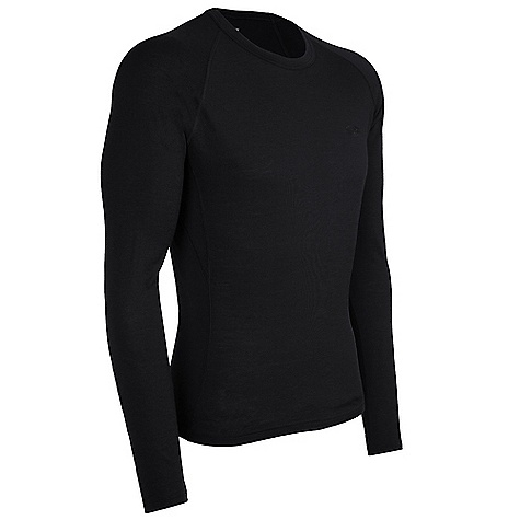 On Sale. Free Shipping. Icebreaker Men's LS Atlas Top DECENT FEATURES of the Icebreaker Men's Long Sleeve Atlas Top Crewe neck Raglan sleeves Gussets for ease of movement Fits close to the body Flat-lock stitching Icebreaker tonal embroidered logo - $40.99