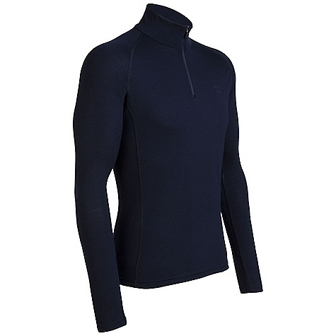 On Sale. Free Shipping. Icebreaker Men's Mondo Zip Top DECENT FEATURES of the Icebreaker Men's Mondo Zip Top Zip neck collar Raglan sleeves Gussets for ease of movement Forward side seam Fits close to the body Flatlock stitching Icebreaker tonal embroidered logo - $71.96