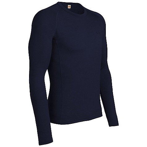 On Sale. Free Shipping. Icebreaker Men's Oasis Crewe Top DECENT FEATURES of the Icebreaker Men's Oasis Crewe Top Crewe neck Raglan sleeves Gussets for ease of movement Forward side seam Fits close to the body Flatlock stitching Icebreaker tonal embroidered logo - $46.99