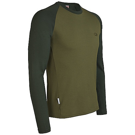 Free Shipping. Icebreaker Men's 260 LS Crewe Top DECENT FEATURES of the Icebreaker Men's 260 Long Sleeve Crewe Top Simple warmth worn over the world Non-itch/odour resistant/fast drying No-chafe flatlock stitching/ forward side seams Comfy raglan sleeves Close-to-body fit - $89.95