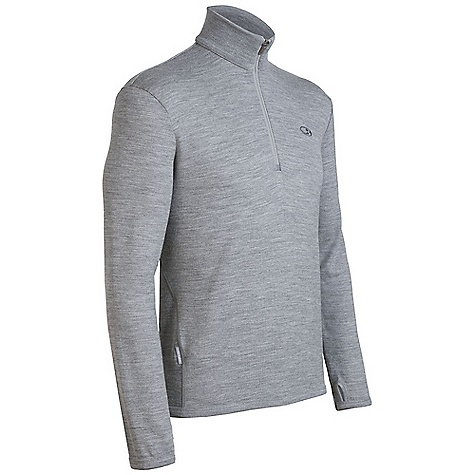 On Sale. Free Shipping. Icebreaker Men's Original Zip Top DECENT FEATURES of the Icebreaker Men's Original Zip Top 320gm merino Stylish, simple warmth Versatile mid layer dresses up or down Rib collar accents style Forward side seam won't rub Highly breathable/odour resistant - $103.99