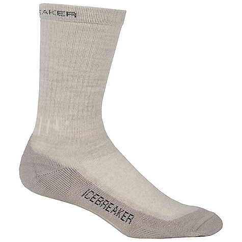 Camp and Hike Icebreaker Women's Hiker Lite Crew Sock DECENT FEATURES of the Icebreaker Women's Hiker Lite Crew Sock Achilles support Instep support Reinforced heel and toe LIN toe seam Breathable flat zone - $18.95