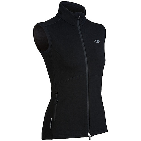 Free Shipping. Icebreaker Women's Quantum Vest DECENT FEATURES of the Icebreaker Women's Quantum Vest GT 260 Essential workout protection and performance Two-way reflective zipper for visibility Eyelet panels for venting Interior chin guard won't chafe Raglan sleeves for mobility - $129.95