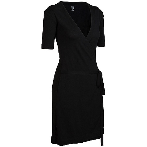 Entertainment On Sale. Free Shipping. Icebreaker Women's Roma Dress DECENT FEATURES of the Icebreaker Women's Roma Dress SF200 Regular fit Low v neck from crossover styling Slight drop shoulder elbow length sleeves Forward side seam with in-seam pockets Secured belt in self fabric Slight A line shape from waist to hem Knee length Icebreaker pip label - $88.99