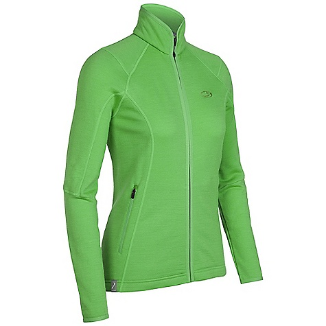 On Sale. Free Shipping. Icebreaker Women's Cascade Full Zip DECENT FEATURES of the Icebreaker Women's Cascade Full Zip Realfleece 260 Decadent, pure merino fleece mid layer Soft, odour resistant and breathable Zipped hand pockets for snacks/tunes Drop tail adds coverage - $133.99