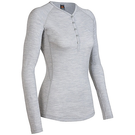 On Sale. Free Shipping. Icebreaker Women's Oasis Henley Shirt DECENT FEATURES of the Icebreaker Women's Oasis Henley Shirt V neck Deep placket with button closure Raglan sleeves Fits close to the body Flat-lock stitching Drop-tail hem Icebreaker tonal embroidered logo - $61.99