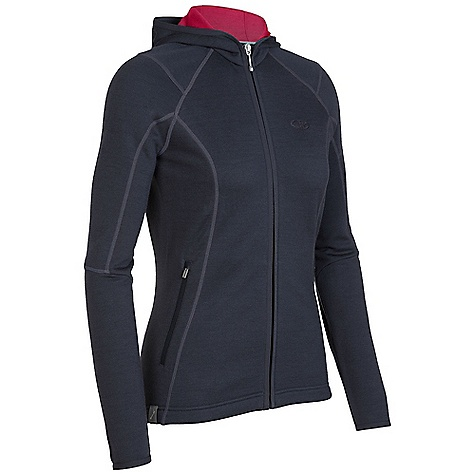 On Sale. Free Shipping. Icebreaker Women's Cascade Hood DECENT FEATURES of the Icebreaker Women's Cascade Hood Realfleece 260 Indulgent mid layer to escape the elements Highly breathable, lightweight, plush merino Ultrafine printed hood lining Multiple zipped pockets to stow essentials - $148.99