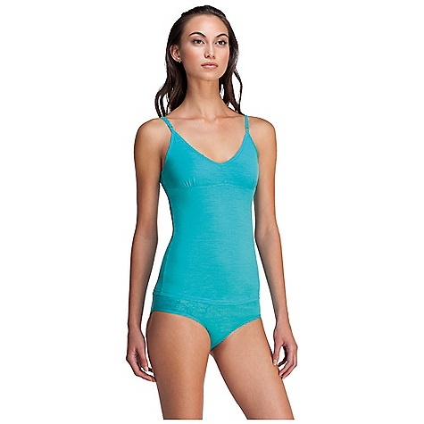 Fitness On Sale. Free Shipping. Icebreaker Women's Siren Shelf Cami DECENT FEATURES of the Icebreaker Women's Siren Shelf Cami A touch of lycra for superior fit Adjustable 1cm (0.4ins) elastic straps Extra low v neck with self binding Self fabric shelf bra Shaped hem No print - $26.99