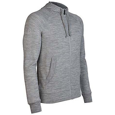 Free Shipping. Icebreaker Men's Quattro Hood Hoody DECENT FEATURES of the Icebreaker Men's Quattro Hood Hoody 260gm merino with a touch of LYCRA Goes everywhere you do Lightweight insulating layers without the bulk No-seam raglan sleeve Front hand pockets with rib detail - $169.95