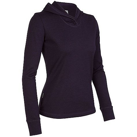 On Sale. Free Shipping. Icebreaker Women's Zephyr Hood DECENT FEATURES of the Icebreaker Women's Zephyr Hood 260gm merino Nature-inspired warmth Midweight merino breathes and insulates Shaped hood for insulation Cover-stitch details add flair - $103.99