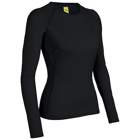 On Sale. Free Shipping. Icebreaker Women's LS Atlas Top DECENT FEATURES of the Icebreaker Women's Atlas Long Sleeve Top Crewe neck Raglan sleeves Gussets for ease of movement Fits close to the body Flat-lock stitching Icebreaker tonal embroidered logo Weight: 150 g - $49.99