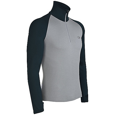 On Sale. Free Shipping. Icebreaker Men's Tech Top DECENT FEATURES of the Icebreaker Men's Tech Top Zip neck collar Raglan sleeves Fits close to the body Drop-tail hem Icebreaker tonal embroidered logo and pip label - $63.99