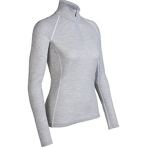 On Sale. Free Shipping. Icebreaker Women's Chakra Zip Top DECENT FEATURES of the Icebreaker Women's Chakra Zip Top Zip neck collar Raglan sleeves Gussets for ease of movement Forward side seams Fits close to the body Flat-lock stitching Icebreaker tonal embroidered logo - $67.46