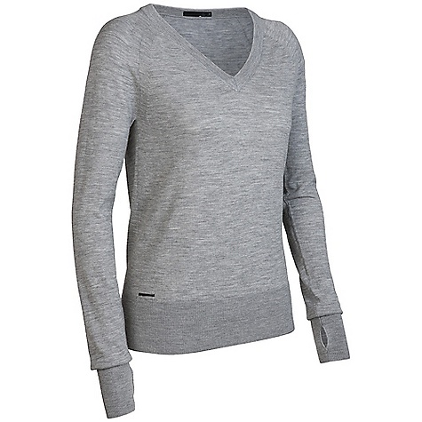 Free Shipping. Icebreaker Women's LS Athena V-Neck Sweater DECENT FEATURES of the Icebreaker Women's Athena V-Neck Long Sleeve Sweater Luxurious warmth Select, finest gauge merino wool Fully fashioned seams Regular fit Falls high on hip - $179.95