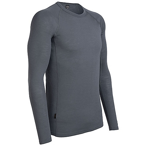 Free Shipping. Icebreaker Men's Everyday Long Sleeve Crewe DECENT FEATURES of the Icebreaker Men's Everyday Long Sleeve Crewe Made from rib fabric 200g/m2 Crewe neck Raglan sleeves Forward side seam Flatlock stitching Icebreaker pip label - $59.95