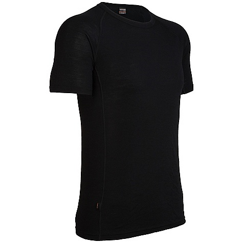 Free Shipping. Icebreaker Men's Everyday Short Sleeve Crewe DECENT FEATURES of the Icebreaker Men's Everyday Short Sleeve Crewe Made from rib fabric 200g/m2 Crewe neck Raglan sleeves Forward side seam Flatlock stitching Icebreaker pip label - $49.95