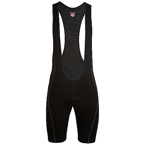 Free Shipping. Icebreaker Men's Circuit Bib DECENT FEATURES of the Icebreaker Men's Circuit Bib 84% merino/14% nylon/ 2% spandex Ergonomic 6-panel construction No waistband eliminates binding Breathable mesh eyelet straps Superior anatomical cushioning - $199.95