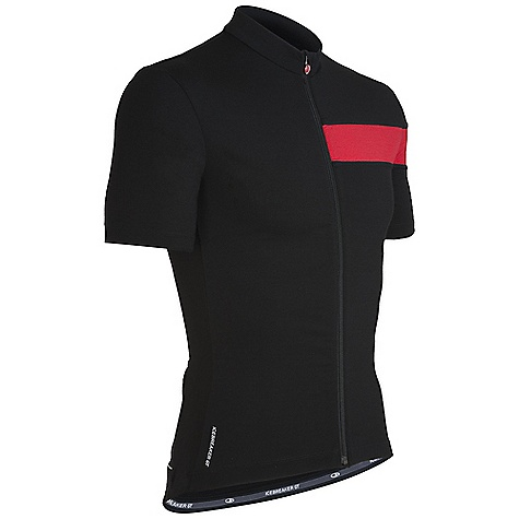 Fitness Free Shipping. Icebreaker Men's SS Circuit Jersey Shirt DECENT FEATURES of the Icebreaker Men's Short Sleeve Circuit Jersey Shirt Fast and functional cycling jersey Warmer GT 260 front/GT 200 back Tested, highly-functional 3-panel pocket MP3 tunes accessed via cord loophole Reflective piping for visibility - $149.95