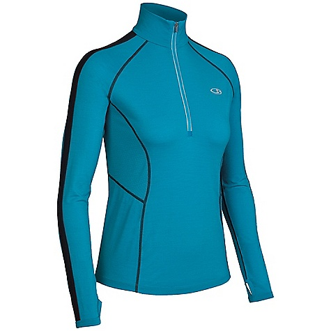 Free Shipping. Icebreaker Women's LS Quest Zip Shirt DECENT FEATURES of the Icebreaker Women's Quest Long Sleeve Zip Shirt GT 200 Cool weather workout performance LYCRA enhances fit and dry time Fast drying and odour resistant MP3 tunes via cord loophole Eyelet panels increase venting Back pocket stashes keys/gels - $119.95