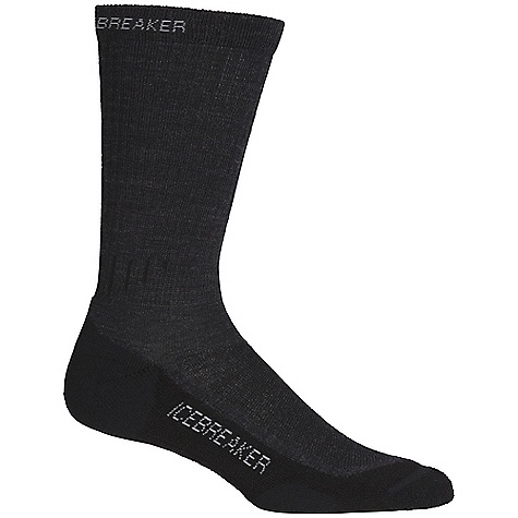 Camp and Hike Icebreaker Women's Hike Lite Crew Sock 2 Pack DECENT FEATURES of the Icebreaker Women's Hike Lite Crew Sock 2 Pack Perfect year-round hiking sock Highly breathable Medium cushioning Achilles/Instep support LIN toe seam to prevent blisters Weight: 0.14-0.15 kg - $34.95