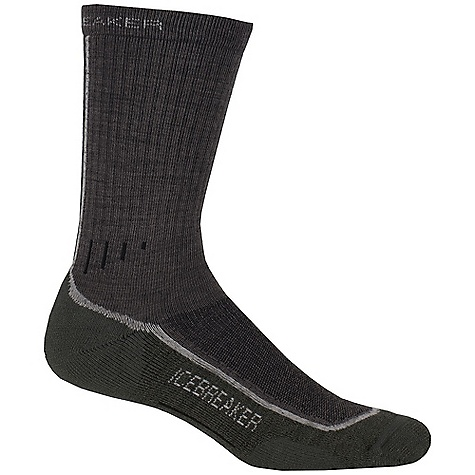Camp and Hike Icebreaker Men's Hike Lite Crew Sock 2 Pack DECENT FEATURES of the Icebreaker Men's Hike Lite Crew Sock 2 Pack High breathability Lite cushioning underfoot Perfect for hiking all year round - $34.95