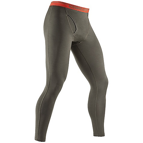 Free Shipping. Icebreaker Men's BodyFit 200 Legging W- Fly DECENT FEATURES of the Icebreaker Men's BodyFit 200 Legging W/ Fly Gusset for ease of movement Fits close to the body No centre back seam Flatlock stitching - $79.95