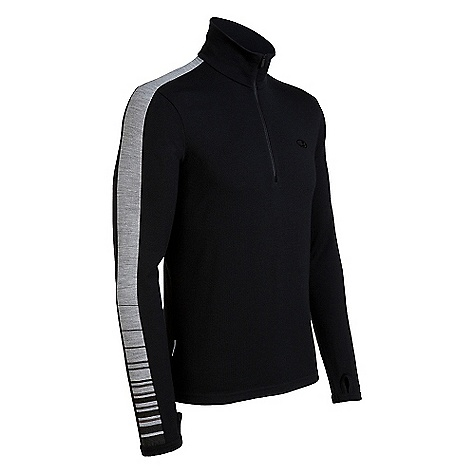 On Sale. Free Shipping. Icebreaker Men's BodyFit 150 LS Zip DECENT FEATURES of the Icebreaker Men's BodyFit 150 Long Sleeve Zip 150gm merino with a touch of LYCRA for ultimate fit Zip collar Raglan sleeves Forward side seam Flatlock stitching Icebreaker pip label - $50.99