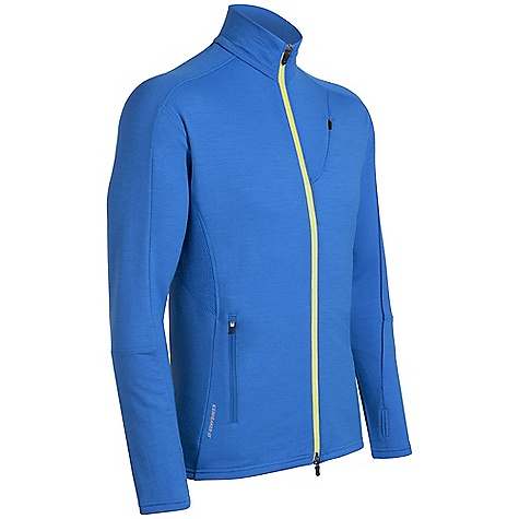 On Sale. Free Shipping. Icebreaker Men's Rapid Zip DECENT FEATURES of the Icebreaker Men's Rapid Zip GT 260 Insulation for going fast Highly breathable for aerobic pursuits Articulated sleeves for active motion Underarm eyelet gusset increases venting Drop tail hem adds coverage - $94.99