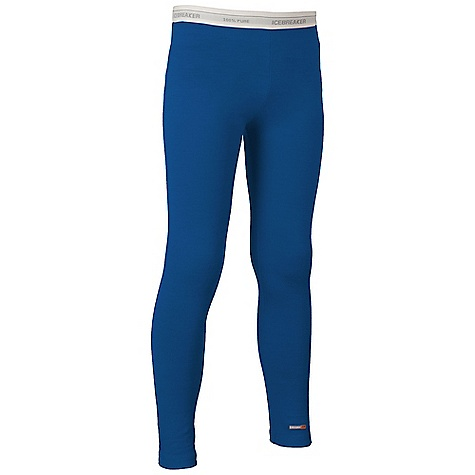 Free Shipping. Icebreaker Kid's 5-8 Leggings Kids 5-8 Leggings by Icebreaker Features: Non itchy Soft and comfortable against the skin Soft elastic waistband Flatlock seams to prevent chafing - $49.95