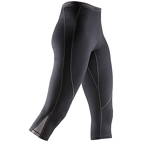 Free Shipping. Icebreaker Women's Pace Legless DECENT FEATURES of the Icebreaker Women's Pace Legless Trim, athletic fit Brushed elastic waistband Gusset for ease of movement Contrast Flat-lock stitching Icebreaker GT wordmark - $89.95