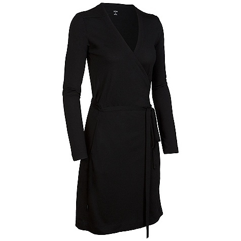 Entertainment On Sale. Free Shipping. Icebreaker Women's LS Roma Dress DECENT FEATURES of the Icebreaker Women's Long Sleeve Roma Dress The perfect little black dress Flattering crossover style Low v neck Full-length sleeves Forward side seams with pockets - $96.99