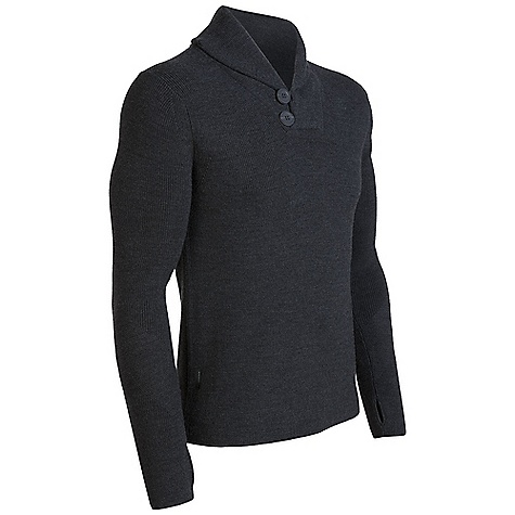 On Sale. Free Shipping. Icebreaker Men's Orion Sweater DECENT FEATURES of the Icebreaker Men's Orion Sweater Select, lightweight, luxurious knitwear Fully fashioned raglan armholes/shoulder darts color-contrasting shawl collar Thumb loops anchor sleeves/ cover hands - $173.99