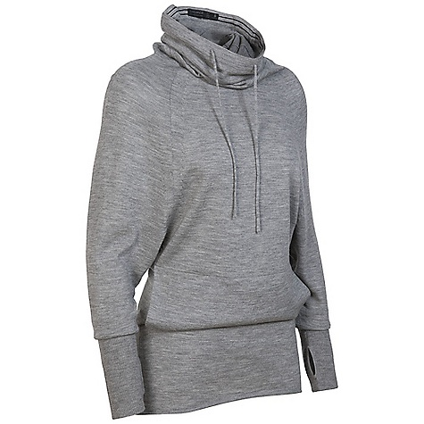 On Sale. Free Shipping. Icebreaker Women's Athena Funnel DECENT FEATURES of the Icebreaker Women's Athena Funnel Lose-yourself luxury and intelligent design Select, finest gauge merino wool Longer length Tunnel neck cinches to become hood Side seam pocket, music management - $168.99