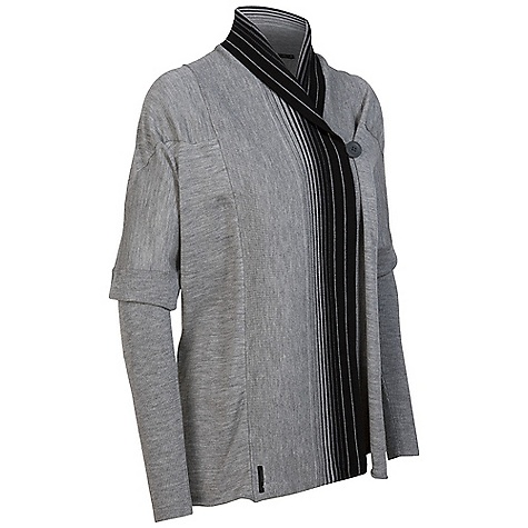 On Sale. Free Shipping. Icebreaker Women's Athena Wrap DECENT FEATURES of the Icebreaker Women's Athena Wrap Decadent invertible sweater goes both ways Long sweater or shorter wrap Inner pocket with media cord hole Soft, ribbed sleeves - $186.99