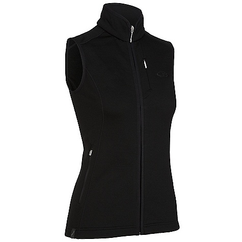 Free Shipping. Icebreaker Women's Cascade Vest DECENT FEATURES of the Icebreaker Women's Cascade Vest Realfleece 260 Cosy core warmth from nature's merino Soft, odour resistant and breathable Zip guard prevents rubbing Drop tail adds coverage Zipped chest pockets - $139.95