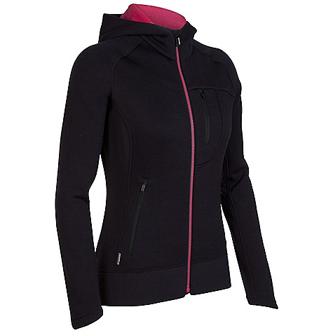 On Sale. Free Shipping. Icebreaker Women's Arctic Hood DECENT FEATURES of the Icebreaker Women's Arctic Hood Realfleece 320 Cosy, pure merino wool fleece Water-repellent nanotechnology Stretchy side and back panels/raglan sleeves Shaped hood and sleeve cuff Zipped chest and hand pockets Zippered hand pockets - $187.99