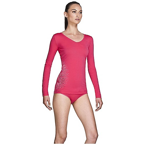 On Sale. Free Shipping. Icebreaker Women's LS Siren Sweetheart DECENT FEATURES of the Icebreaker Women's Siren Long Sleeve Sweetheart 150gm merino with a touch of LYCRA for ultimate fit Sweetheart neckline Self fabric binding at neckline Set in sleeve Print unique to color way - $51.45