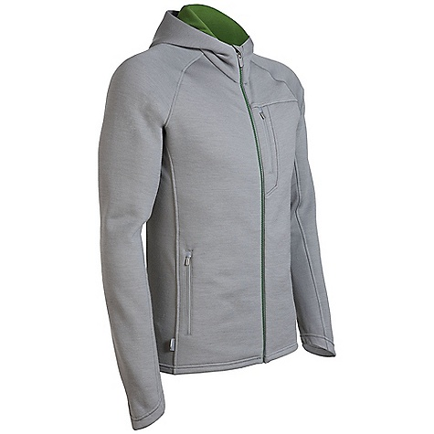 On Sale. Free Shipping. Icebreaker Men's Kodiak Hood DECENT FEATURES of the Icebreaker Men's Kodiak Hood Real fleece 320 Protective pure merino wool fleece Water-repellent nanotechnology Stretchy side and back panels/raglan sleeves Shaped hood/sleeve cuff for warmth Zipped chest pocket with media cord hole Zippered hand pockets - $174.99