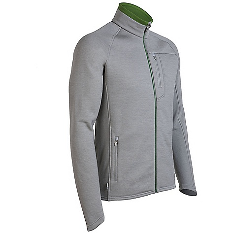 On Sale. Free Shipping. Icebreaker Men's Kodiak Zip DECENT FEATURES of the Icebreaker Men's Kodiak Zip Real fleece 320 Protective pure merino wool fleece Water-repellent nanotechnology Stretchy side and back panels/raglan sleeves Shaped sleeve cuffs for warmth Zipped chest pocket with media cord hole Zippered hand pockets - $161.99