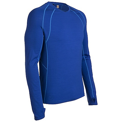 On Sale. Free Shipping. Icebreaker Men's LS Quest Crewe DECENT FEATURES of the Icebreaker Men's Long Sleeve Quest Crewe The workout crew as agile as you GT 200 Fast drying and odour resistant MP3 tunes via cord loophole Eyelet panels Increase venting Back stash pocket for keys/gels - $58.99