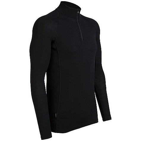 Free Shipping. Icebreaker Men's Everyday LS Half Zip Top DECENT FEATURES of the Icebreaker Men's Everyday Long Sleeve Half Zip Top 200gm rib / 100% merino Zip collar Raglan sleeves Forward side seam Flatlock stitching Icebreaker pip label - $69.95