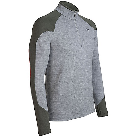 On Sale. Free Shipping. Icebreaker Men's Legion Zip DECENT FEATURES of the Icebreaker Men's Legion Zip 320gm merino Slope to city versatile mid-layer Contrast sleeve/collar panels for crisp style Raglan sleeves for mobility Highly breathable/odour resistant - $102.99