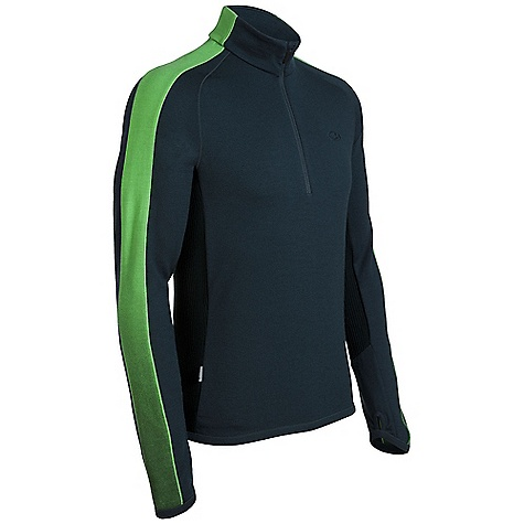On Sale. Free Shipping. Icebreaker Men's Polaris Zip DECENT FEATURES of the Icebreaker Men's Polaris Zip 320gm merino Alpine style for mountains and meetings Lightweight merino insulates yet breathes Deep venting front zip with zip guard Ergonomic cuffs with thumb loops cover hands - $94.99