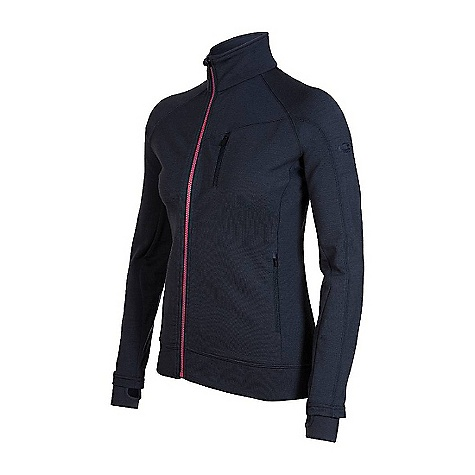 Free Shipping. Icebreaker Women's Carve Zip DECENT FEATURES of the Icebreaker Women's Carve Zip GT 320 Hip insulation solo or under a shell Terry fabric wicks moisture Self-fabric internal cuff with watch window for timekeeping Raglan sleeves for mobility Offset zip to avoid zipper stacking - $219.95